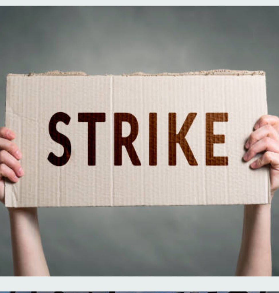 Banker's view over privatization and salary deduction for strike period of two days 15th and 16th March.